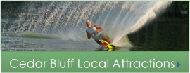 Cedar Bluff Attractions